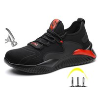 Boot Plus Size Men Winter Steel Protective Work Shoes Short Lair Mid Zoom Safety Undefeated 0802