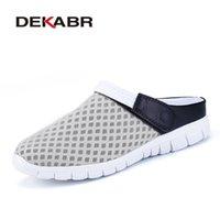 Zimnie Marke 2021 Sommer Mesh Atmungsaktive Männer Sandalen Unisex Paar Modelle Licht Komfortable Flachschuhe Sneakers Plus Größe 36 ~ 46 210312