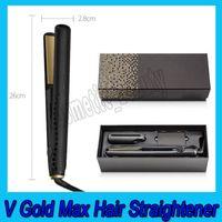 .V Gold Max Cheveux Lisseur Classic Professionnel Staturer Fast Cheveux Redresseurs à cheveux Outil de coiffure de cheveux Bonne qualité