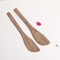 Couteau de masque en bois Wengé Couteau de beurre de style japonais Marmalade Couteau Couteau Dumpling Crème Couteaux en gros NHF7639