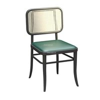 Camp Furniture Southeast Asian Woven Rattan Outdoor Chairs Wrought Iron Beach Designer Cafe Dining Room Chair Modern