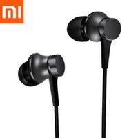 Xiaomi Kulaklık In -Ear Kulaklıklar 3.5mm Piston 3 Taze Sürüm Mic ile Cep Telefonu Mi 9 Not 10 Pad 4 MP4 MP3 PC