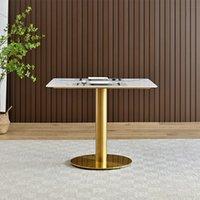 주방 가구 노르딕 라이트 럭셔리 록 보드 테이블 및 의자 조합 비즈니스 협상 리셉션 소형 라운드 테이블의 여가 발코니 테이블