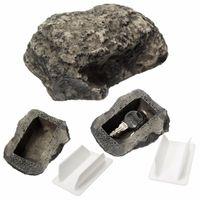 Casa chave de reposição ao ar livre Sacos de armazenamento seguro escondido Hide Security Rock Stone Caixa Caixa WY1470