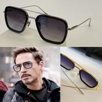 선글라스 스퀘어 안경 여성 및 남성용 초박형 렌즈 18 Karat Gold Plating Process 고품질 제품 매우 절묘한 06