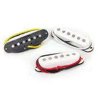 Set di chitarra elettrica Pickup Alnico Vintage Single Bobina Pickups Belcat BS01A Black / Bianco