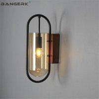 Wall Lamps BANGERK Nordic Design Modern LED Light Loft Glass Sconce Bedside Aisle Restaurant Home Decor Indoor Lighting