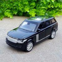 1:32 رينج روفر سيارات الدفع الرباعي سبائك معدنية دييكاست لعبة المركبات مصغرة مقياس نموذج سيارة لعب للأطفال T200417