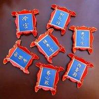 Pechino, Cina Taobao Plaque Series Souvenir Palazzo freddo Imperial Sala da pranzo Resin Frigorifero Paste Magneti