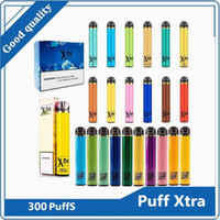 Puff XTRA и XTIA одноразовые сигареты устройства Pod Kit 1500 Puffs Предварительно заполненная 5 мл картридж мощный аккумулятор Vape пустой ручка против воздушного бара люкс XXL