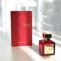 Vendita Lady Donne Profumo Baccarat Rouge 540 Extrait de Parfum Neutro Floral Fragranze floreale 70ml EDP Top Quality ad alte prestazioni