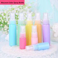 Storage Bottles & Jars 30ML Macaron Color Spray Small Sample Cosmetics Refillable Bottle