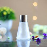 Bouteilles de verre coniques de l'aromathérapie 30ml 60 ml de lunettes de volatilisation de parfum de volaille en rotin Diffuseur Reed Reed BWB9146