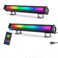 36W 72W RGB LED Stage Bar Light Party Effects Lighting APP Control Waterproof Wall Washer Floodlight for Church Wedding DJ Outdoor Landscape