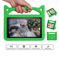 Kids Children Handle Stand EVA Foam Soft Shockproof Tablet Case For Amzon fire 7 8 For Apple iPad Mini 2 3 4