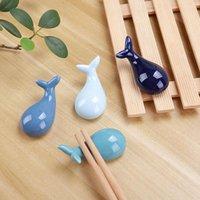 Essstäbchen Japanischer Keramikhalter Kreative Walform Pflege Löffel Stand Rack Rest Küche Geschirr Dekoration