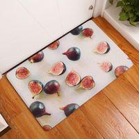 Carpets Apple Pineapple Fig Banana Strawberry Mat Door Rug Easy To Clean Indoor Outdoor Entrance Floor Mats Shoe Scraper Doormat