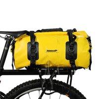 20L Su Geçirmez Duffel Çanta Çok Fonksiyonlu Bisiklet Bisiklet Arka Koltuk Gövde Çanta Bisiklet Raf Pannier Açık Kamp Seyahat