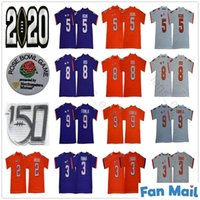 Clemson Tigers 8 Justyn Ross 9 Travis Etienne Jr. 2 Sammy Watkins 5 Tee Higgins 4 Watson 3 Xavier Thomas 150th NCAA College Football Jerseys