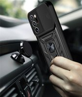 Shockproof Armor Ring Stand Cases Camera Lens Protector Magnetic Holder Back Cover Case For Samsung Galaxy Note 20 S20 S31 Plus Ultra
