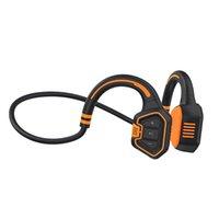 Écouteurs de natation avec IP68Grade Écouteurs entièrement imperméables Écouteurs osseux Casque Bluetooth Casque Bluetooth 16G Mémoire et MP3 Play pour la plongée de surf en cours d'exécution