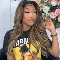 Human Hair Bulks Highlight Brazilian Body Wave 3 Bundles With Closure P4 27 Lace Remy