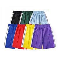 2021 Palm Baskılı Tasarımcı Rahat Kısa Pantolon Erkekler Kadınlar Bahar Yaz Yoga Jogger Spor PA Lüks Plaj