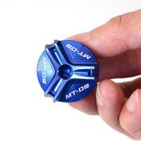 Oljefyllnadsskydd för Yamaha MT09 MT-09 Tracer 900 / GT 2014-2018 2019 2020 Motorcykel Tillbehör Motorpluggkåpa
