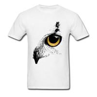 CCCCsPortmen Tees 2018 Brand New Original Stamm Eule Eye T-shirt Männer Einzigartige Design Herren Kurzarm Runder Kragen Kleidung Sommer