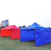 텐트 천으로 측면 벽 Carport 차고 인클로저 쉼터 텐트 파티 태양 벽 Sunshade 쉼터 Tarp 지원 및 탑 천으로 209 W2