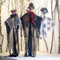Распакование макета Скелетные реквизиты Party Bar Хэллоуин Подвесные Смесительства Инструменты 3Styles Rra1998
