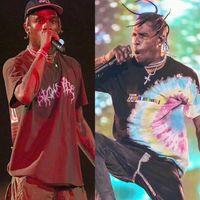 Travis Scott Astroworld Festival Run Tie Dye Tee Pop Up T Shirt da uomo Donne Hip Hop High Quality Top Top Tees Travis Scott T-shirt