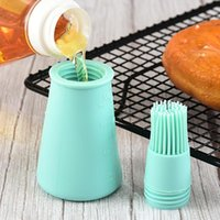 Tools & Accessories High Temperature Resistant Silicone Bottle Brush Barbecue Oil Household Baking BBQ Pancake