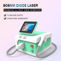 Único e triplo comprimentos de onda indolor que remoção permanente portátil 808nm diodo laser 300w máquina de depilação de cabelo corpo inteiro