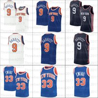 2021 The Basketball Jersey 9 RJ Patrick Barrett Ewing Mesh Retro Männer Frauen Jugend weiß blau schwarz