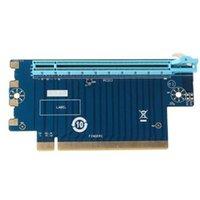 كابلات الكمبيوتر موصلات PCI Express 16x Riser Card PCI-E التوجيه 90 درجة زاوية اليمنى لعرض 1U 2U المضيف 6CT