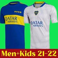2021 2022 Boca Juniors Soccer Jersey Home Away 21 22 Tevez Maradona Moura Abila de Rossi JRS SPORTS MENS + أطفال كرة القدم