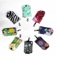 Sacos de compras dobráveis de nylon domésticas japoneses Nylon sacos de compras eco-friendly bolsas de compras Sacos de compras Novos sacos de armazenamento
