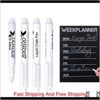 Wholesale marcador de caneta de giz líquido branco para janelas de vidro quadro-negro qualidade primeiro 6qxd7 z3thth ucab4