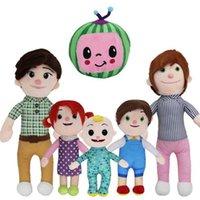 Melon JJ Peluche Toys COCOMELON NIÑOS REGALO LINDO Muñeca educativa de juguete de peluche lindo 2021