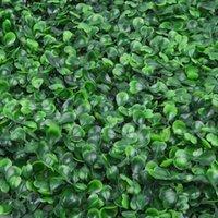 Искусственная зеленая трава квадратный пластиковый газон растение дома украшения стены растения для семейных отелей гостиной кафе