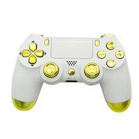 Personnaliser le contrôleur de jeu universel Joystick sans fil Contrôleur de jeu télécommandé GamePad Contrôleur pour PS4 Sony PlayStation