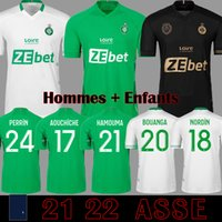 Le Coq Sportif AS Saint Etienne Camisetas ASSE 2019 2020 Jerseys de fútbol 19 20 KHAZRI CABELLA BERIC NORDIN HAMOUMA Camisetas de fútbol equipos tops Camisetas