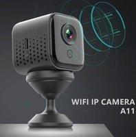 Webcam A11 HD 1080 P Mini IP Kamera Wifi P2P Gece Görüş Mikro Akıllı Ev Güvenlik Uygulaması Monitör Video DVR Kamera