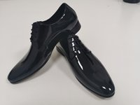 Designer Fashion Dress Scarpe da uomo Lecci Business Laces Low Top di alta qualità di alta qualità Office Party Wedding Factory-Footwear Black Dimensioni: 39-47 Bel
