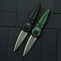 Newest Piranha Folding Knife D2 Aviation Aluminum Alloy Tactical Knives Cold Steel Paragon Camping Survival knifes C81 BM 940 BM3300 EDC Tools