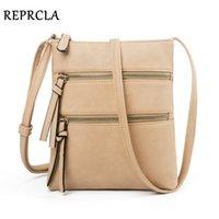 Reprcla 10 Colors Casual Women Task Multifunctional Messenger Shoulder Designer Handbag Small Crossbody Bags Women's Wallets