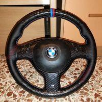 5D Fibra de Carbono Buraco Negro Mão De Couro Sew Wrap Cobertura Para BMW E46 E39 330I 540I 525i 530i 330CI M3 2001-2003