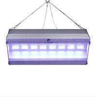 Aquariums Éclairage Led Aquarium Light Bar Quantum Board Lampe 80W suspendue Tank Tank Blanc Bleu LEDS pour plante d'eau douce