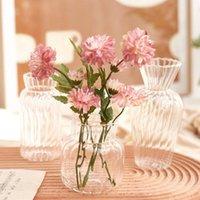 Vase de fleurs pour la décoration de mariage Centre-poste Vase Vase Rose Table de rose Ornements de bureau de bureau Nordic